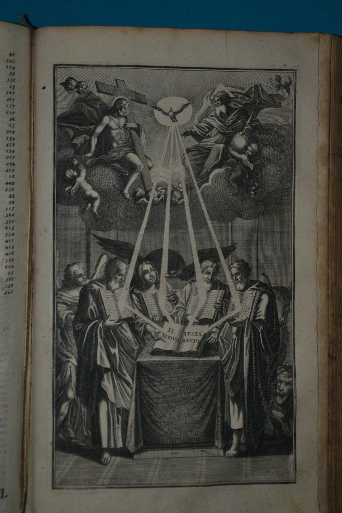 Antiporta bibbia Mattia D'Erberg